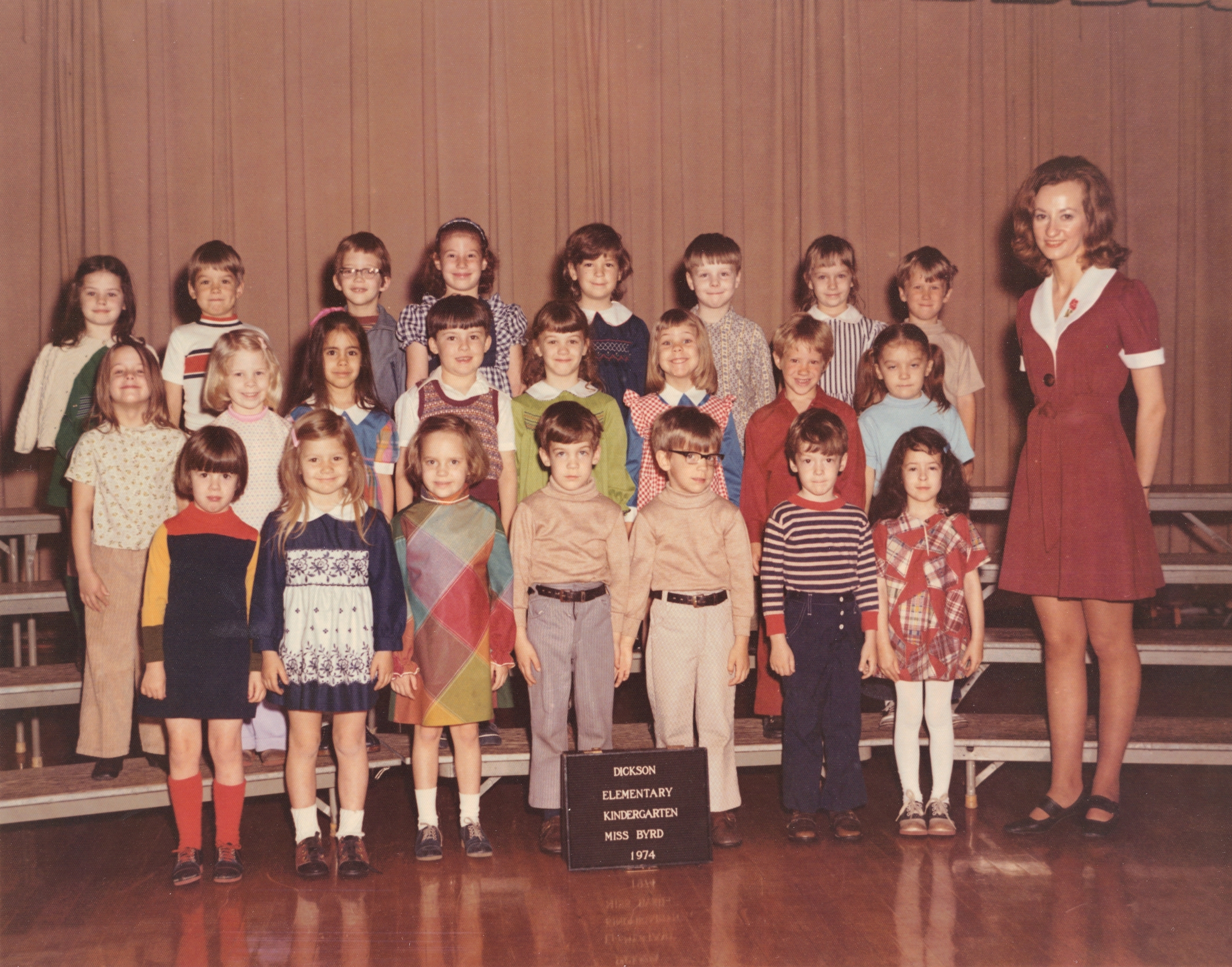dickson elementary school kingsport tennessee classes 1974 grade