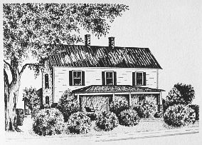 John Wilburn Dickson House Card